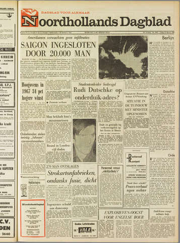 Noordhollands Dagblad : dagblad voor Alkmaar en omgeving 1968-02-23