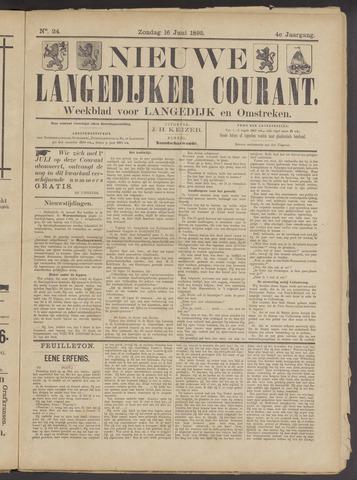 Nieuwe Langedijker Courant 1895-06-16