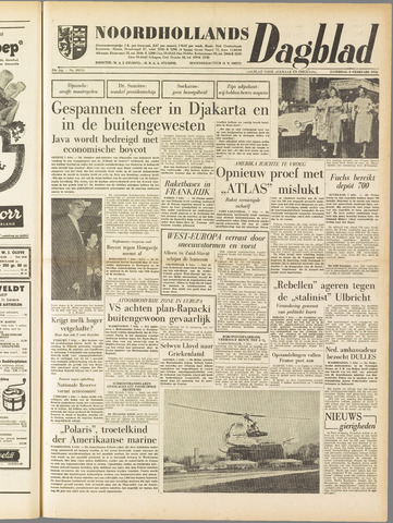 Noordhollands Dagblad : dagblad voor Alkmaar en omgeving 1958-02-08