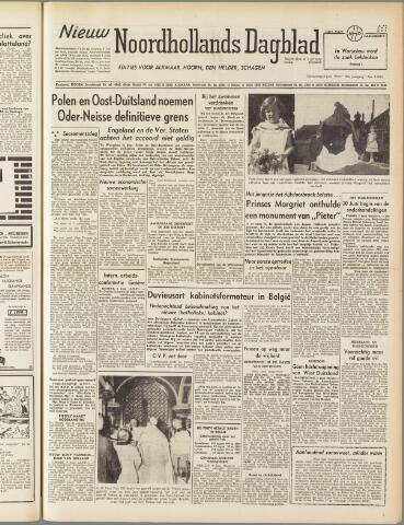Nieuw Noordhollandsch Dagblad : voor Alkmaar en omgeving 1950-06-08
