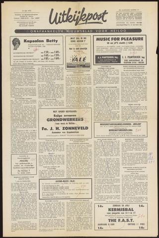 Uitkijkpost : nieuwsblad voor Heiloo e.o. 1970-07-16