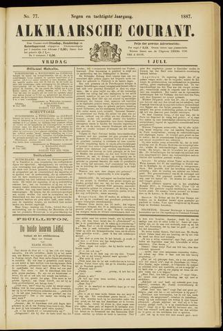 Alkmaarsche Courant 1887-07-01