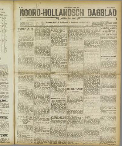 Ons Blad : katholiek nieuwsblad voor N-H 1921-04-28