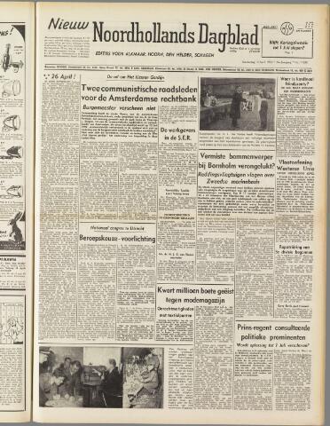 Nieuw Noordhollandsch Dagblad : voor Alkmaar en omgeving 1950-04-13
