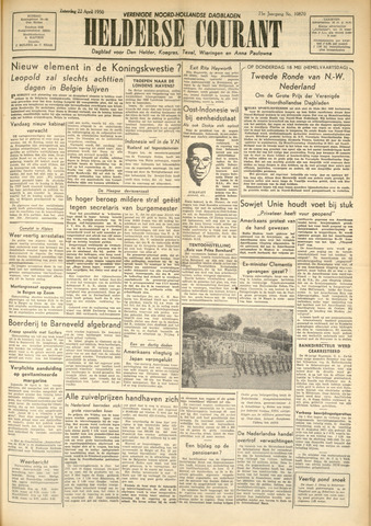 Heldersche Courant 1950-04-22