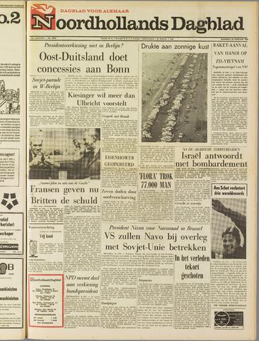 Noordhollands Dagblad : dagblad voor Alkmaar en omgeving 1969-02-24