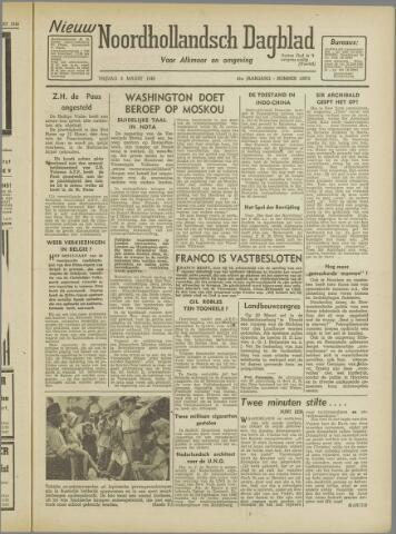 Nieuw Noordhollandsch Dagblad : voor Alkmaar en omgeving 1946-03-08