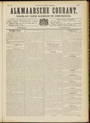 Alkmaarsche Courant 1909-02-09