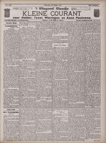 Vliegend blaadje : nieuws- en advertentiebode voor Den Helder 1913-10-22