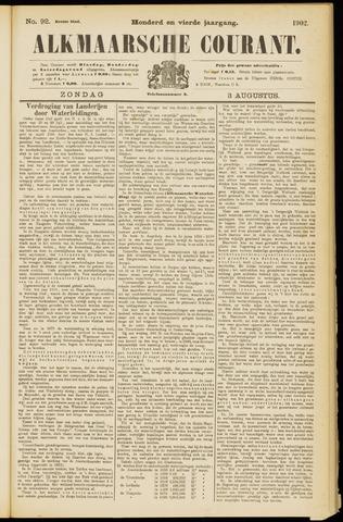 Alkmaarsche Courant 1902-08-03