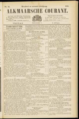 Alkmaarsche Courant 1905-07-07
