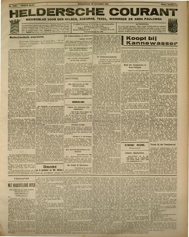 Heldersche Courant 1931-10-22