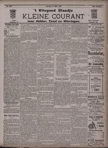Vliegend blaadje : nieuws- en advertentiebode voor Den Helder 1900-04-14