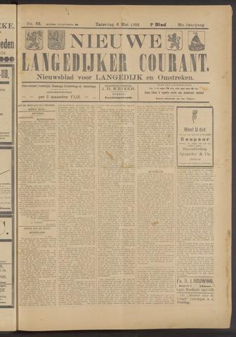 Nieuwe Langedijker Courant 1922-05-06