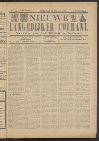 Nieuwe Langedijker Courant 1922-02-23