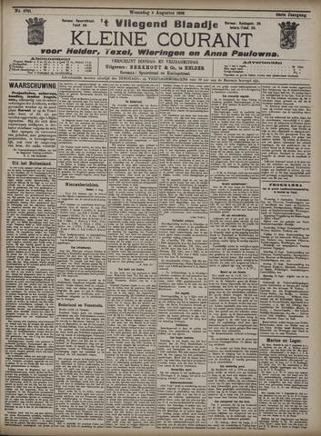 Vliegend blaadje : nieuws- en advertentiebode voor Den Helder 1908-08-05
