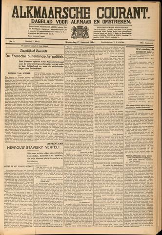 Alkmaarsche Courant 1934-01-17