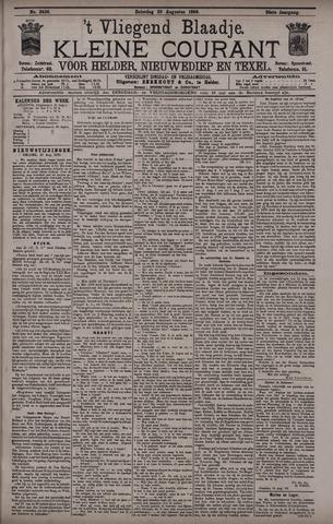 Vliegend blaadje : nieuws- en advertentiebode voor Den Helder 1896-08-29