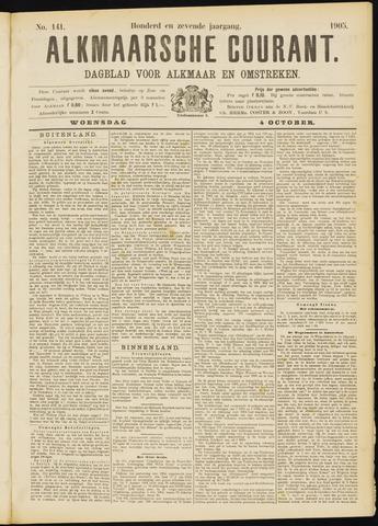Alkmaarsche Courant 1905-10-04