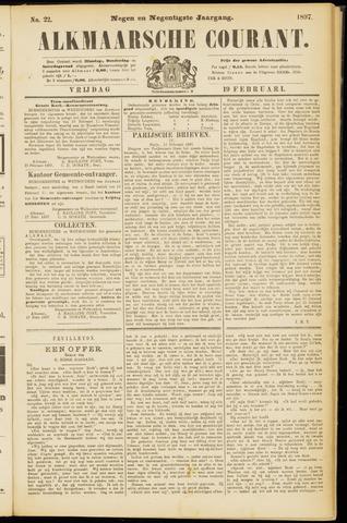 Alkmaarsche Courant 1897-02-19