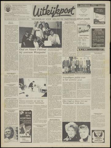 Uitkijkpost : nieuwsblad voor Heiloo e.o. 1989-12-28