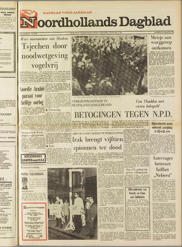 Noordhollands Dagblad : dagblad voor Alkmaar en omgeving 1969-08-25
