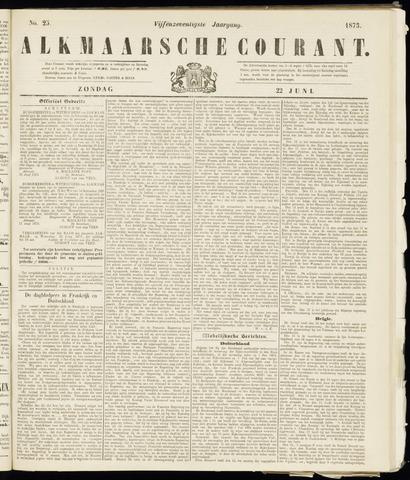 Alkmaarsche Courant 1873-06-22