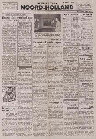 Dagblad Noord-Holland, Schager editie 1943-01-25