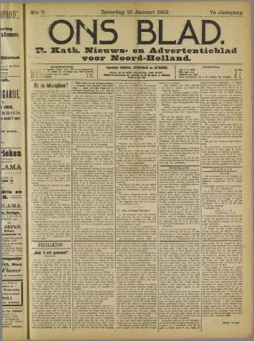 Ons Blad : katholiek nieuwsblad voor N-H 1913-01-18