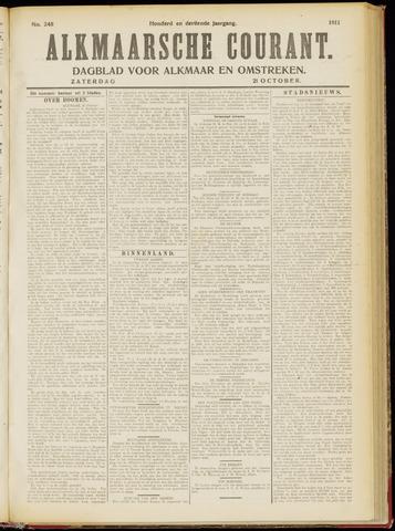 Alkmaarsche Courant 1911-10-21