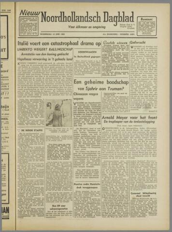 Nieuw Noordhollandsch Dagblad : voor Alkmaar en omgeving 1946-06-12