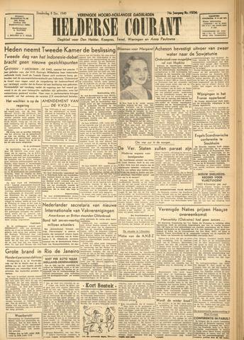 Heldersche Courant 1949-12-08