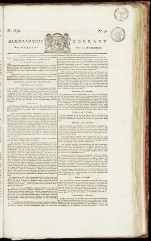 Alkmaarsche Courant 1832-11-12