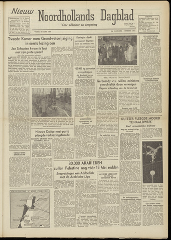 Nieuw Noordhollandsch Dagblad : voor Alkmaar en omgeving 1948-04-30