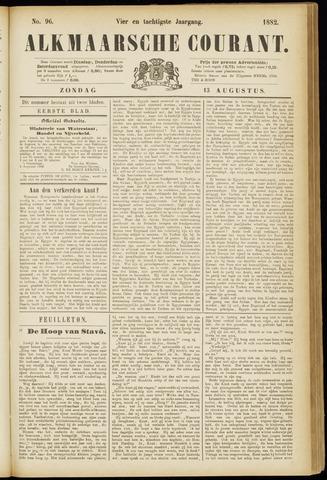 Alkmaarsche Courant 1882-08-13