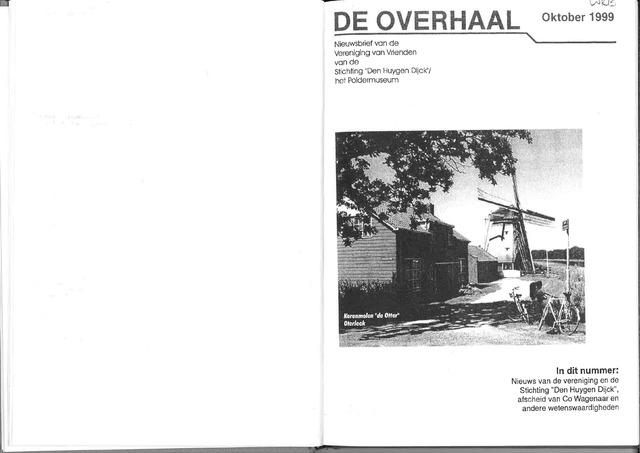 De Overhaal: historisch magazine Heerhugowaard 1999-10-01