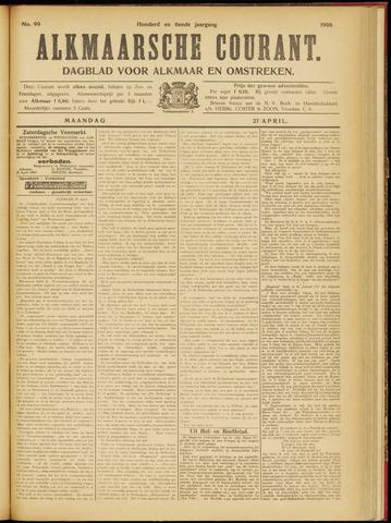 Alkmaarsche Courant 1908-04-27