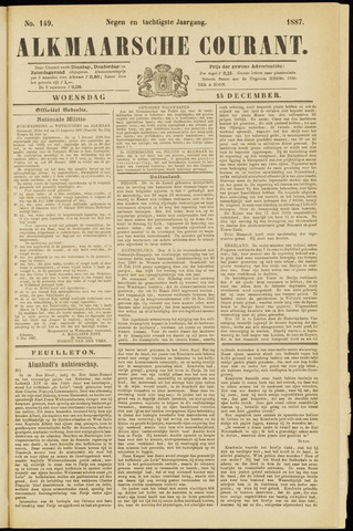 Alkmaarsche Courant 1887-12-14