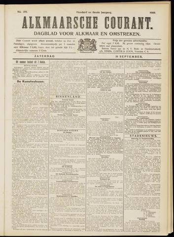 Alkmaarsche Courant 1908-09-19