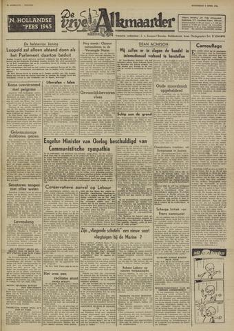 De Vrije Alkmaarder 1950-04-05