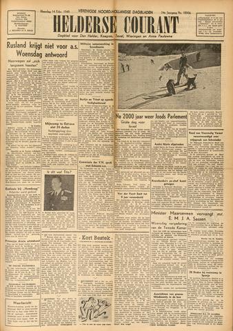 Heldersche Courant 1949-02-14