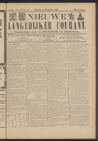 Nieuwe Langedijker Courant 1923-12-11