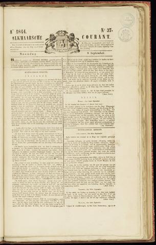 Alkmaarsche Courant 1844-09-09