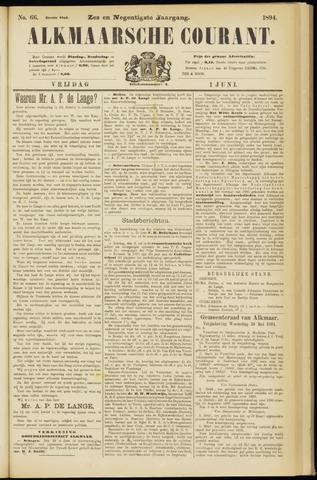 Alkmaarsche Courant 1894-06-01