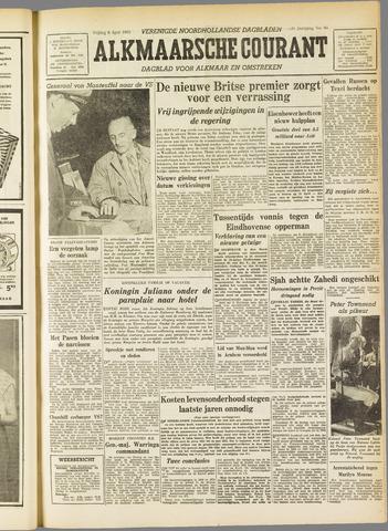 Alkmaarsche Courant 1955-04-08