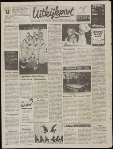 Uitkijkpost : nieuwsblad voor Heiloo e.o. 1992-01-29