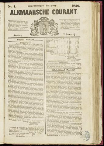 Alkmaarsche Courant 1859-01-02