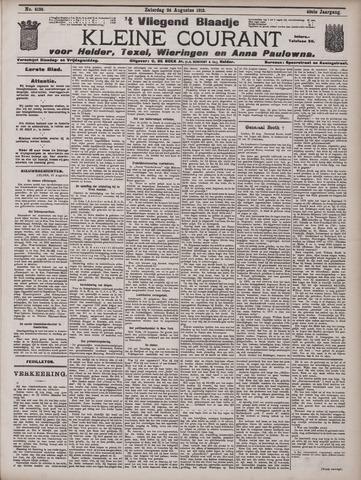 Vliegend blaadje : nieuws- en advertentiebode voor Den Helder 1912-08-24