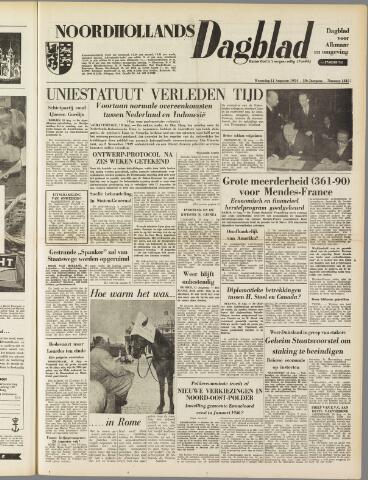 Noordhollands Dagblad : dagblad voor Alkmaar en omgeving 1954-08-11
