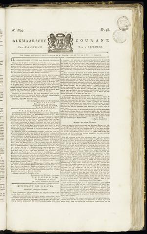 Alkmaarsche Courant 1839-12-02